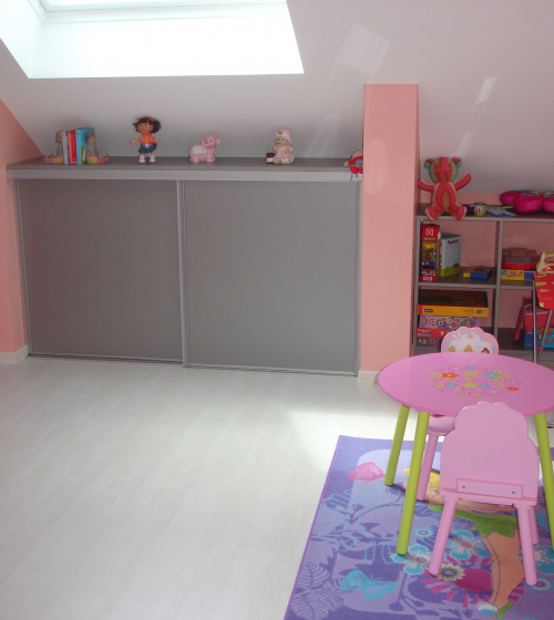 Chambre 2 enfants après travaux