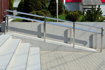 rampe accés