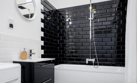 Création d'une salle de bain de style rétro sur le secteur de Ploufragan